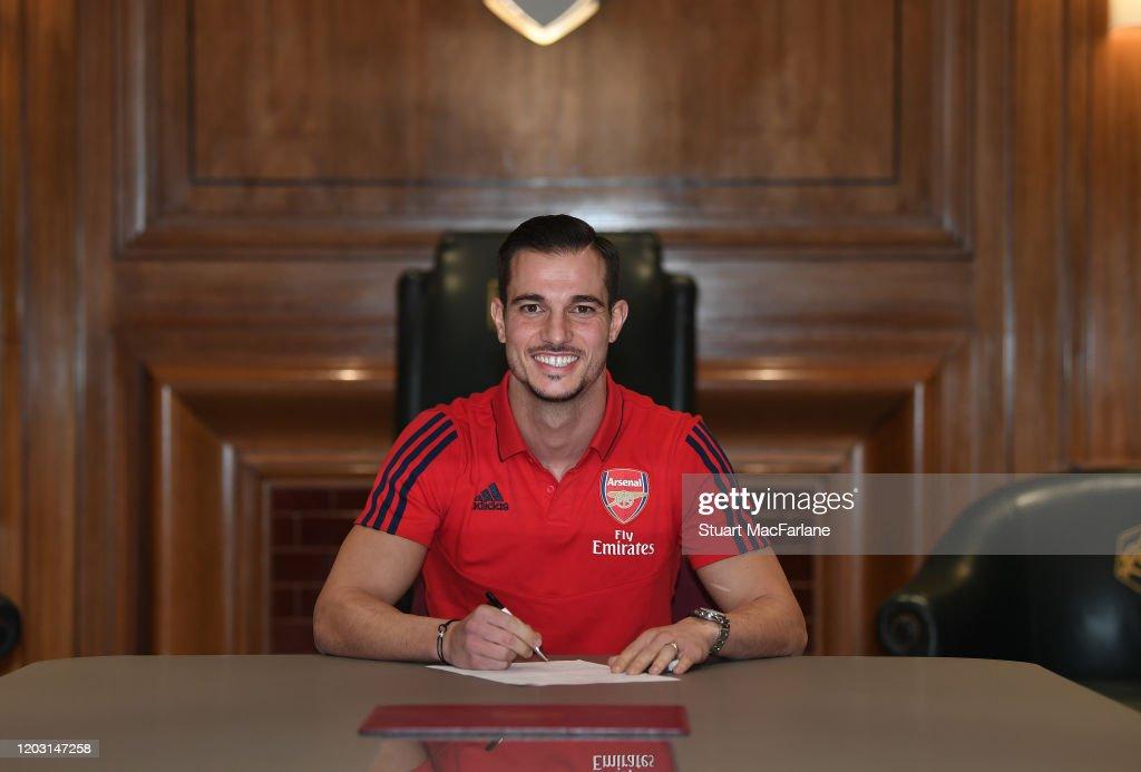 Arsenal New Signing Cedric Soares : News Photo