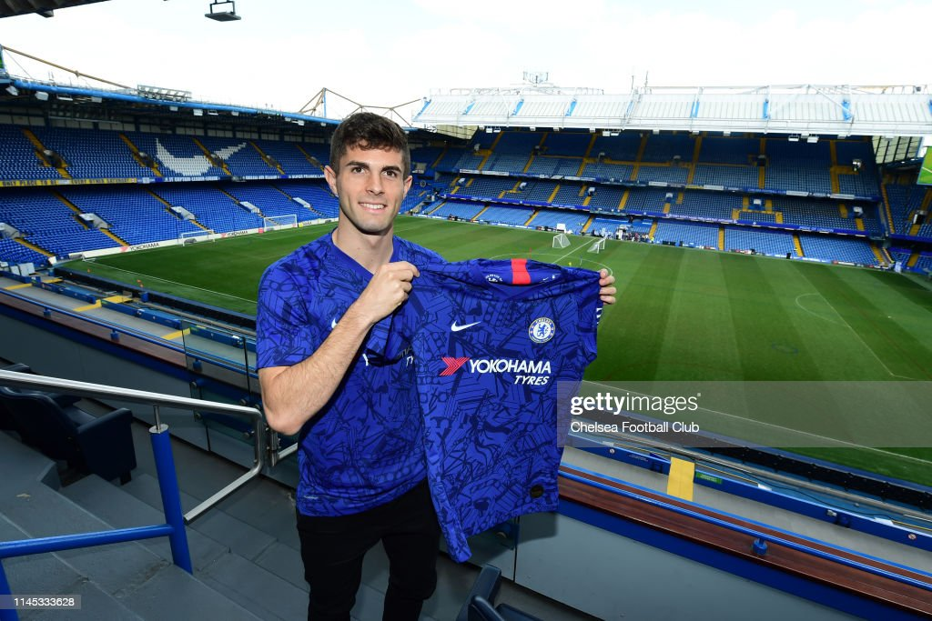 GBR: Chelsea Unveil New Signing Christian Pulisic