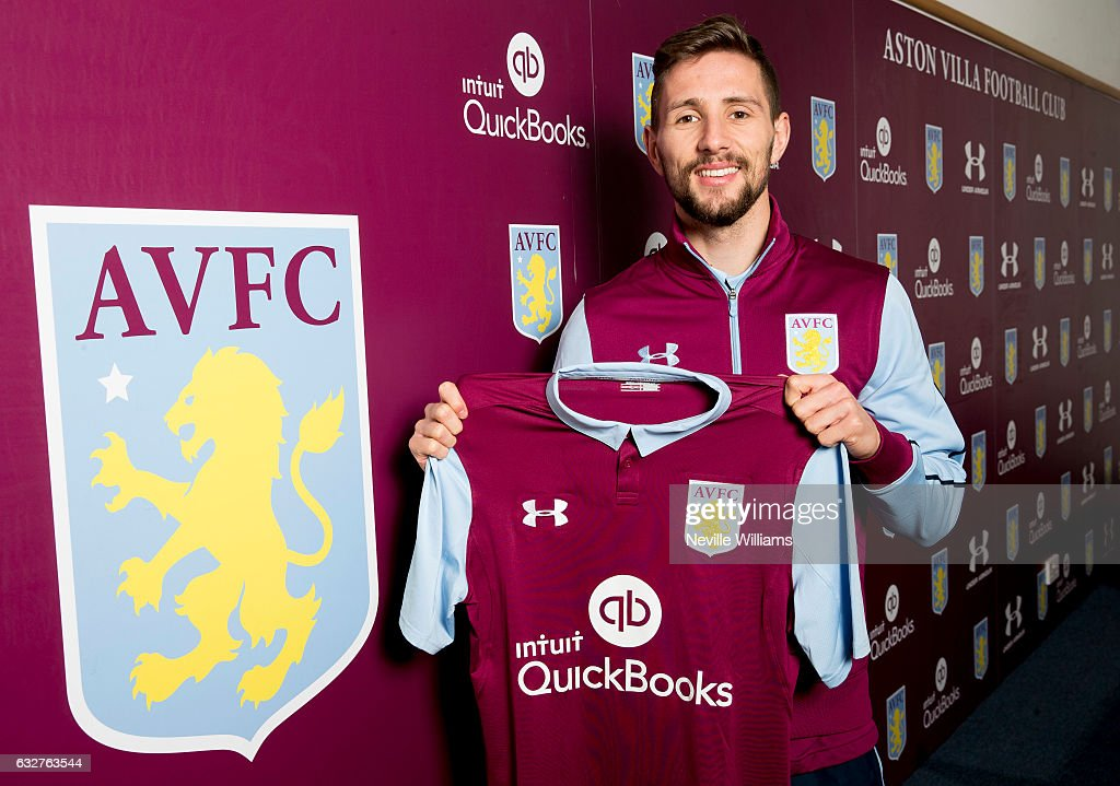 Aston Villa Unveil New Signing Conor Hourihane