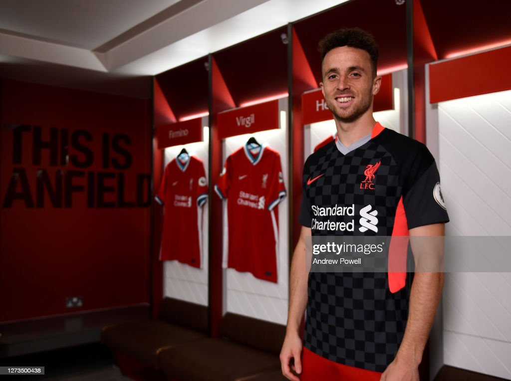 Liverpool Unveil New Signing Diogo Jota : News Photo