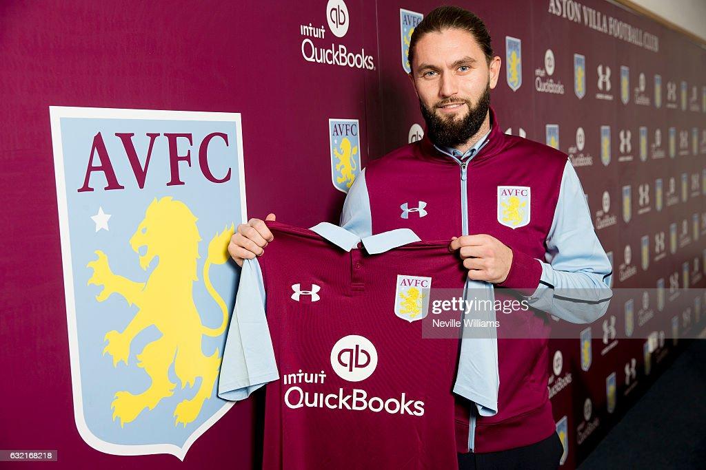 Aston Villa Unveil New Signing Henri Lansbury