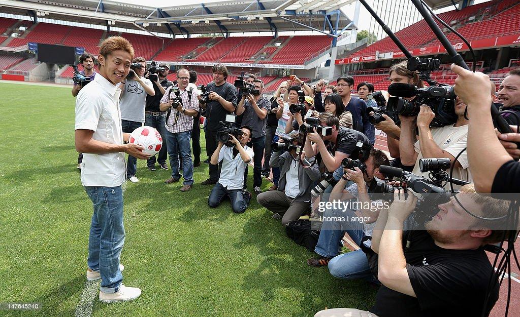 1. FC Nuernberg Presents New Player Hiroshi Kiyotake