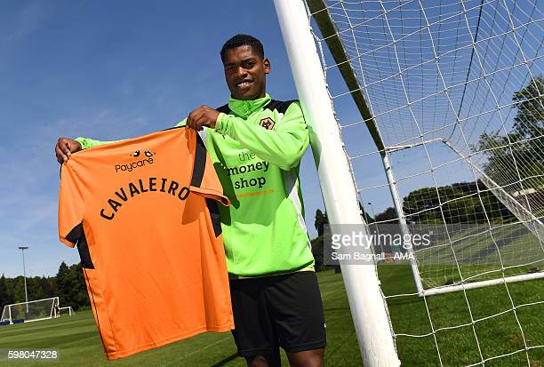 New signing Ivan Cavaleiro of Wolverhampton Wanderers at Molineux on August 31 2016 in Wolverhampton England