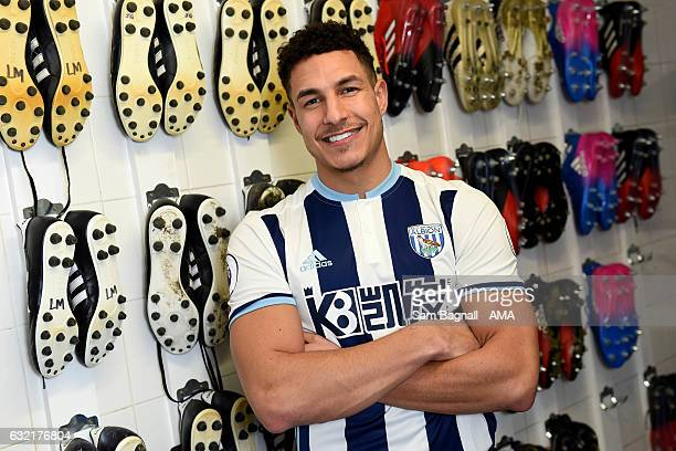 New signing Jake Livermore of West Bromwich Albion on January 20 2017 in West Bromwich England