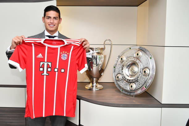 Seconda Maglia FC Bayern München James Rodríguez