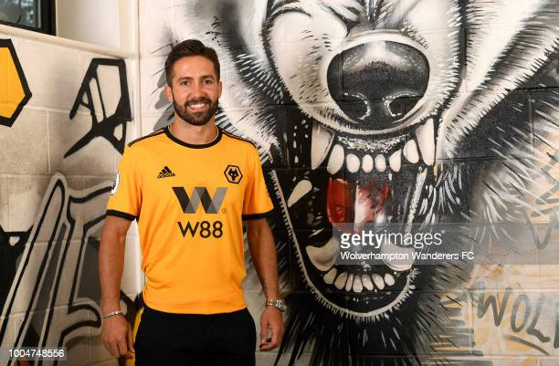 New Signing Joao Moutinho at the Sir Jack Hayward Training Ground on July 24 2018 in Wolverhampton England
