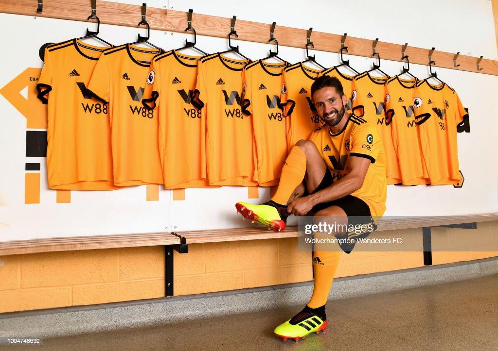 Wolverhampton Wanderers Unveil New Signing Joao Moutinho : News Photo