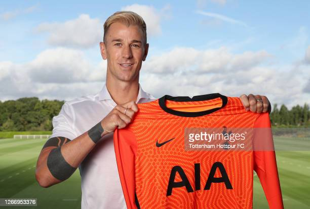 New signing Joe Hart of Tottenham Hotspur is unveiled by the club on August 18 2020 in Enfield England