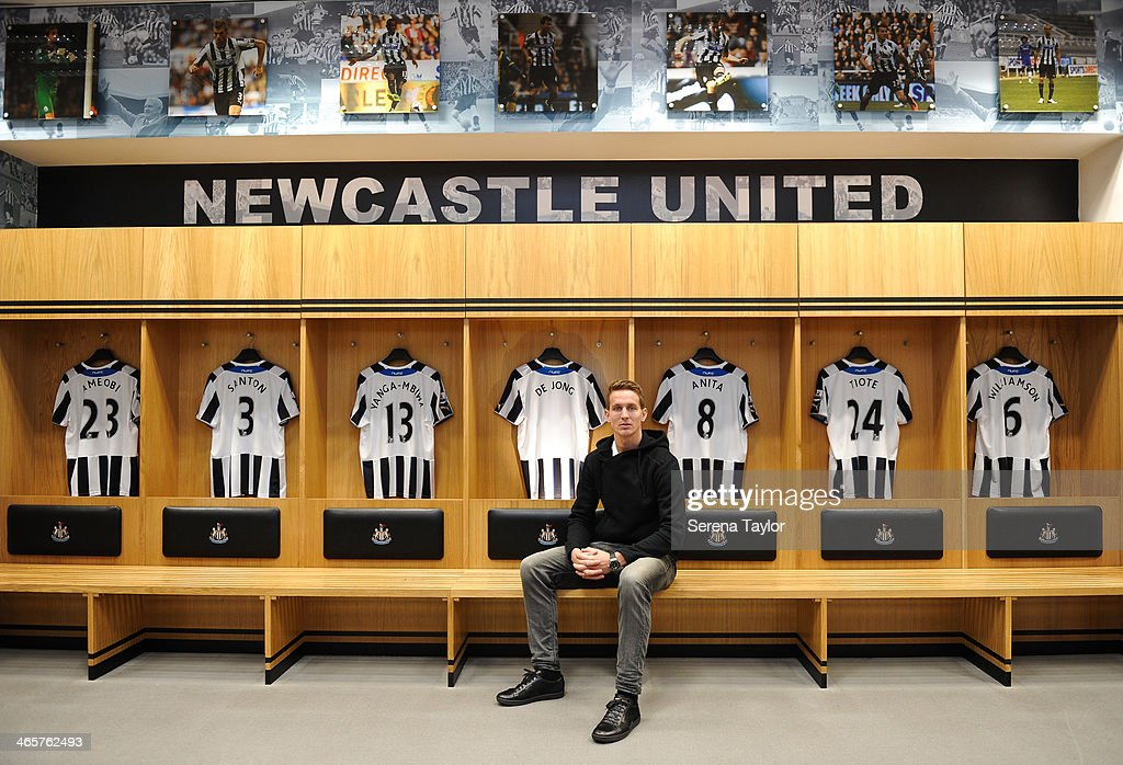 Newcastle United Unveil New Signing Luuk de Jong