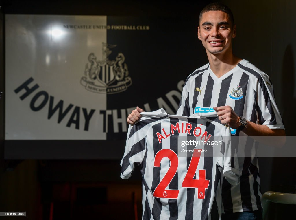 Newcastle United New Signing Miguel Almiron : News Photo