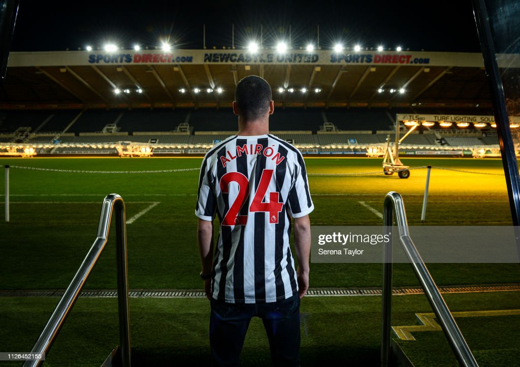 Newcastle United Unveil New Signing Miguel Almiron : News Photo