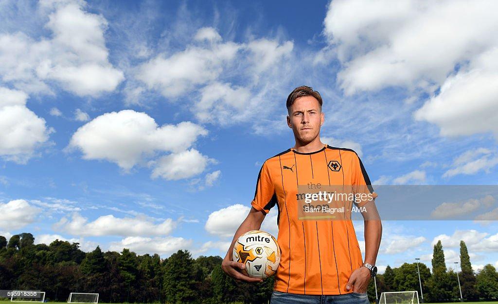 Wolverhampton Wanderers Unveil New Signing Paul Gladon : News Photo