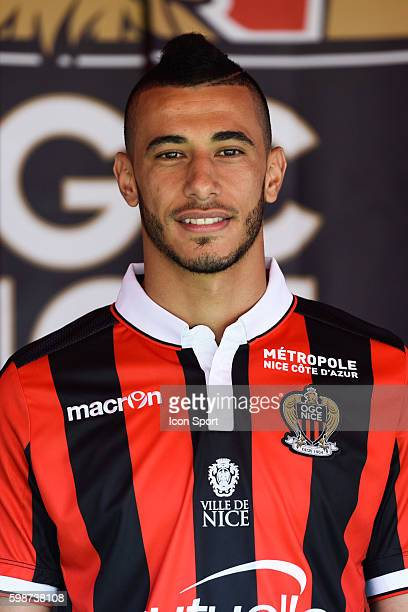 New signing player of Nice Younes Belhanda during press conference of OGC Nice on September 2 2016 in Nice France