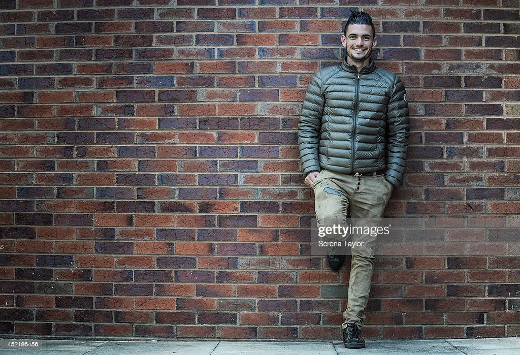 New signing Remy Cabella poses for photographs at The Newcastle United Training Centre on July 13, 2014 in Newcastle upon Tyne, England.
