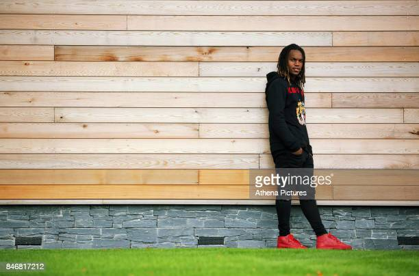 New signing Renato Sanches poses for a portrait after the Swansea City Training at The Fairwood Training Ground on September 08 2017 in Swansea Wales