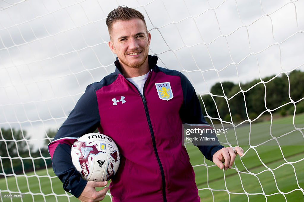 Aston Villa Unveil New Signing Ross McCormack