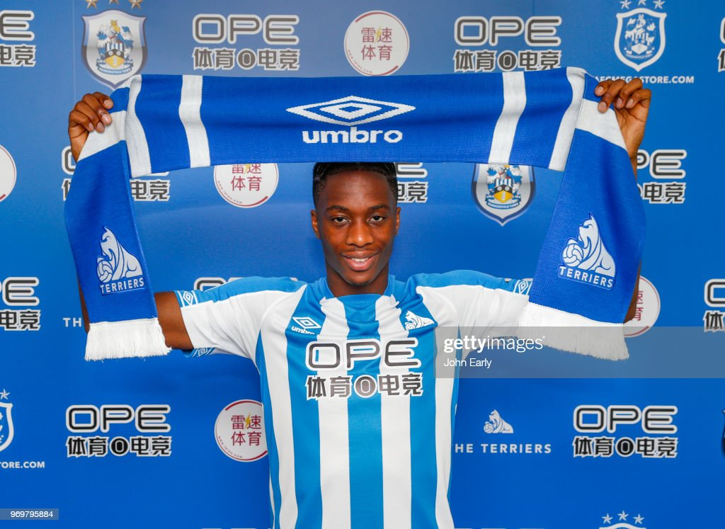 Huddersfield Town Unveil New Signing : News Photo