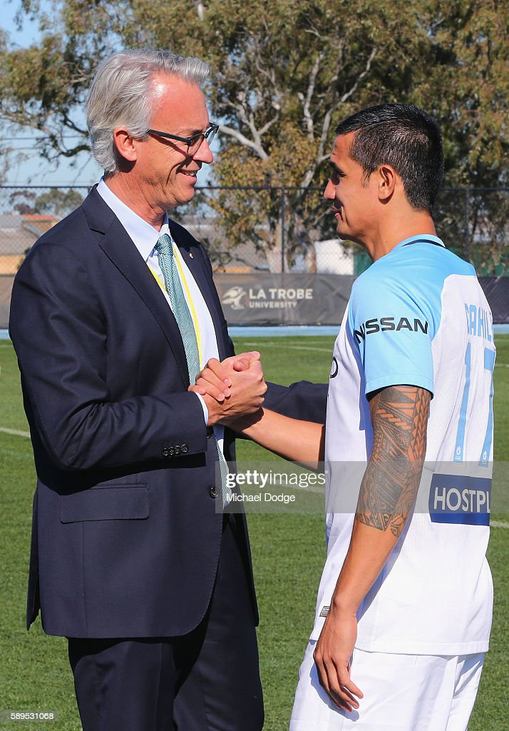 Melbourne City Press Conference & Training Session