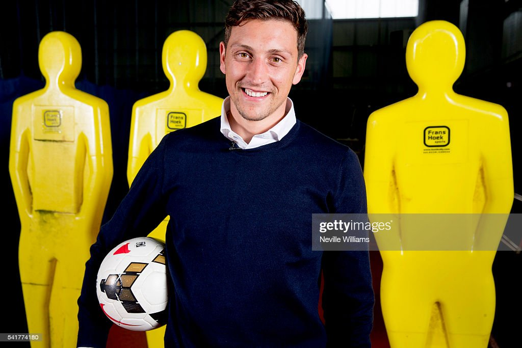 Aston Villa Unveil New Signing Tommy Elphick : News Photo