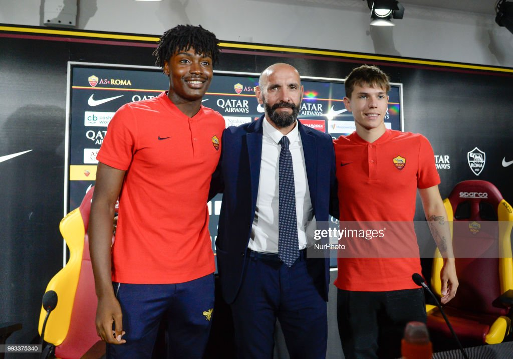 AS Roma New signing Players : News Photo