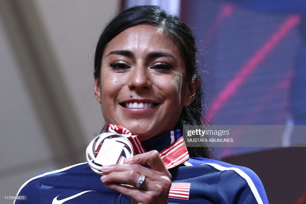 ATHLETICS-WORLD-2019-PODIUM : News Photo