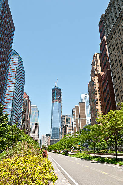 New Skyline Of Lower Manhattan With Freedom Tower Wall Art