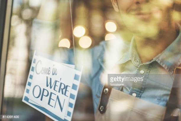 New small business open