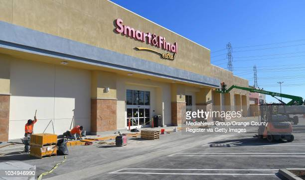 New Smart & Final Extra is nearing completion in Torrance on Tuesday, December 12, 2017. The new grocery store is at the site of a close Raphs store...
