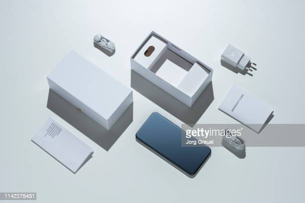 new smartphone - unboxing stock pictures, royalty-free photos & images