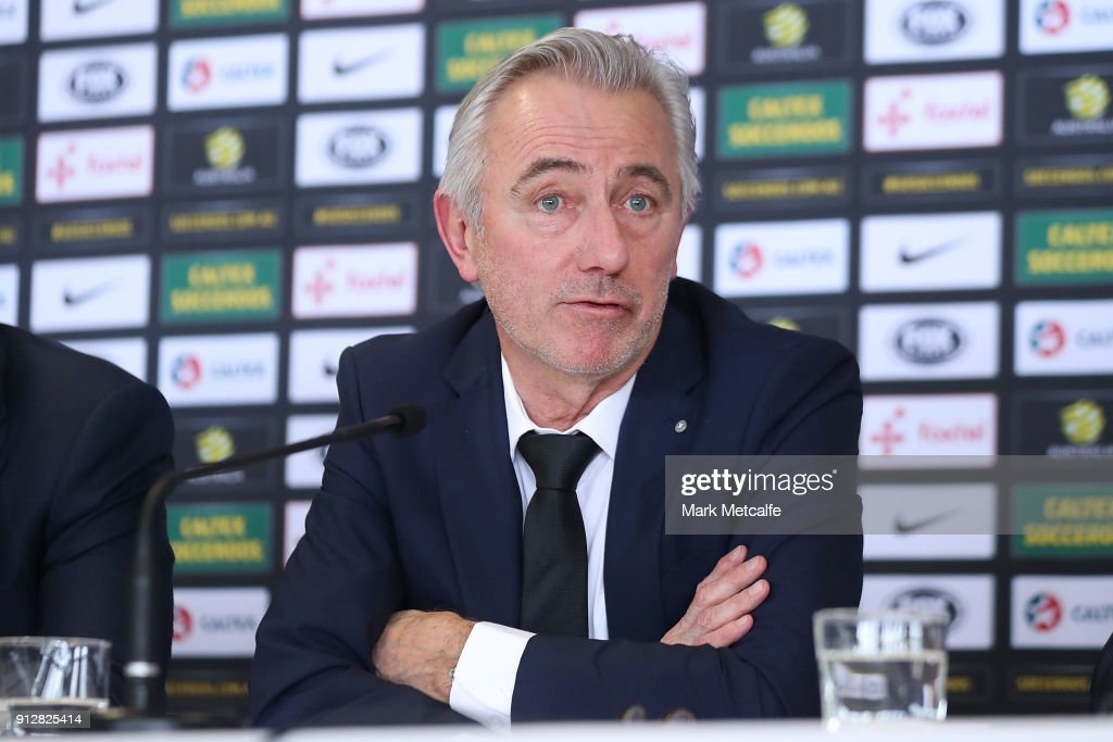 Socceroos Head Coach Press Conference : News Photo