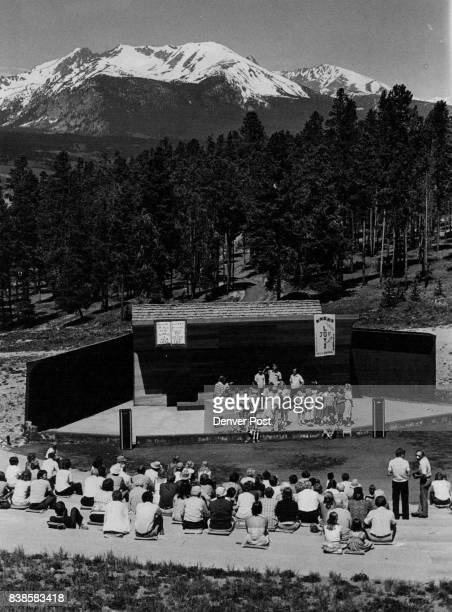 JUN 18 1979 JUN 25 1979 JUN 29 1979 'New Song' a group directed by Alan Olson of Dillon sings at a joint openair worship recently of Lord of the...