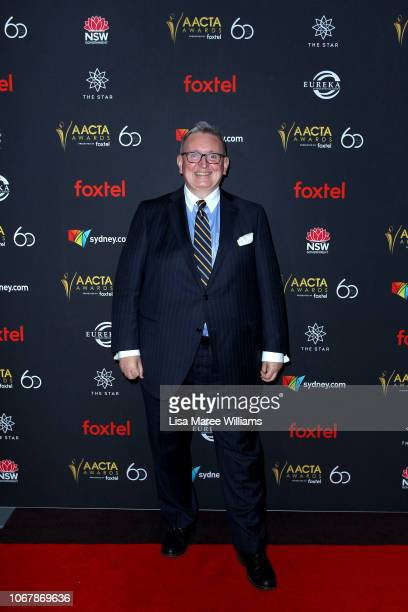 New South Wales Minister for the Arts Don Harwin attends the 2018 AACTA Awards Presented by Foxtel | Industry Luncheon at The Star on December 3 2018...
