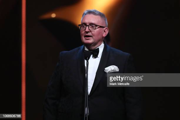 New South Wales Minister for the Arts, Don Harwin during the 2018 AACTA Awards Presented by Foxtel at The Star on December 5, 2018 in Sydney,...