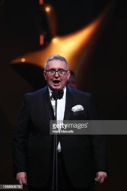 New South Wales Minister for the Arts Don Harwin during the 2018 AACTA Awards Presented by Foxtel at The Star on December 5 2018 in Sydney Australia