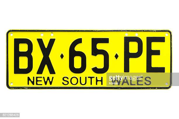 New South Wales (NSW) Number Plate