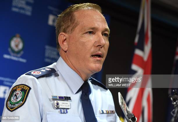 New South Wales Police Commissioner Mick Fuller speaks at a press conference in Sydney on May 24 2017 Police underestimated the threat posed by a...