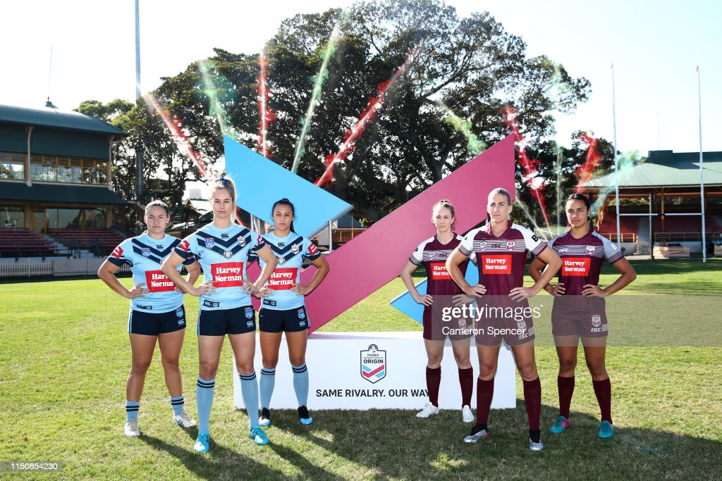 Women's State of Origin Series Launch : News Photo