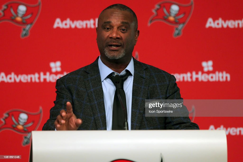 NFL: JAN  11 Bucs Coaches Press Conference : News Photo