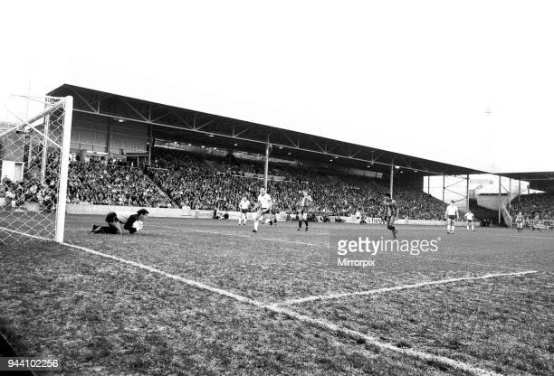New Stand at Valley Parade home of Bradford City FC is reopened with an exhibition match against an England international XI 14th December 1986