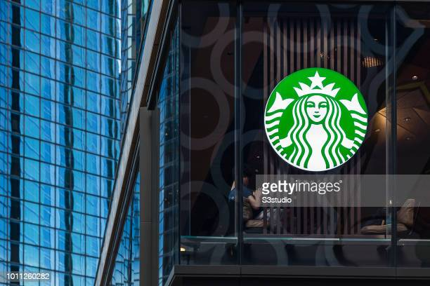 A new Starbucks reserve coffee shop opens on August 01 2018 in Hong Kong Hong Kong