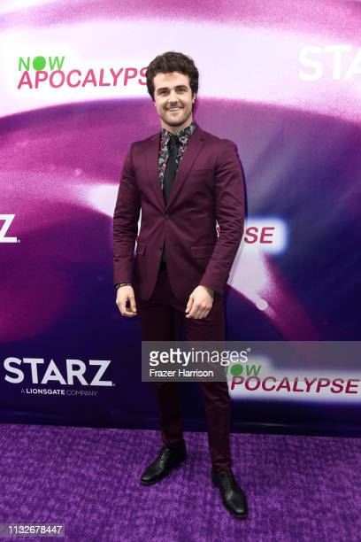 New Starz Series Now Apocalypse at Hollywood Palladium on February 27 2019 in Los Angeles California