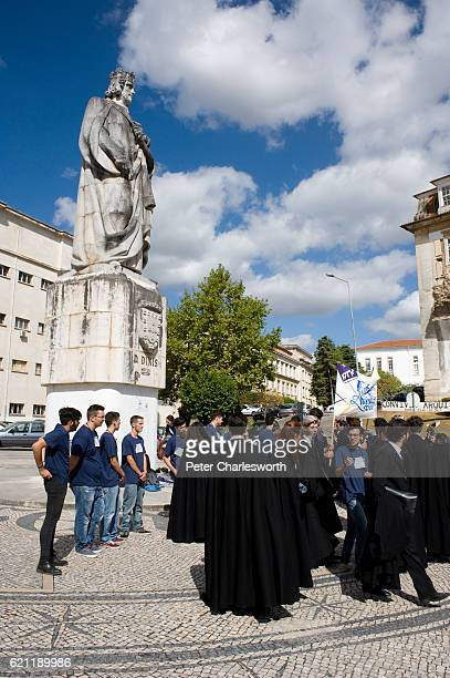 New students at the University of Coimbra are given an induction into student life by other students of the University on the first day of term The...