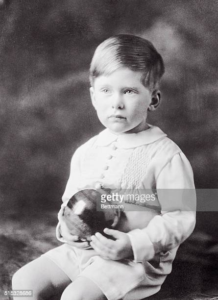 New study of the king's grandson. The above photo shows charming Master George Lascelle, elder son of H.R.H. Princess Mary Viscountess Lascelles, who...