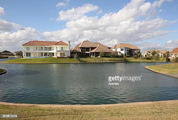 New suburban homes