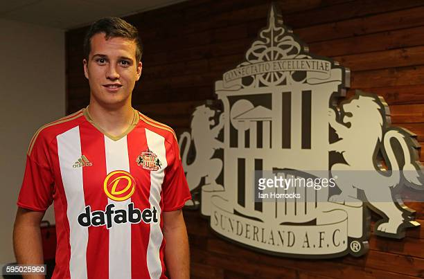 New Sunderland AFC signing Javier Manquillo pictured at the Academy of Light on August 25 2016 in Sunderland England