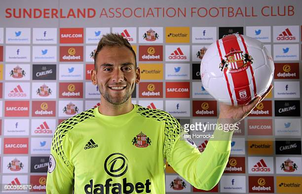 New Sunderland loan signing Michael Simoes Domingues pictured at The Academy of Light on September 8 2016 in Sunderland England