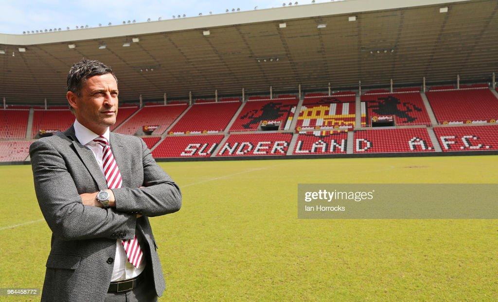 Jack Ross Starts Work at Sunderland : News Photo