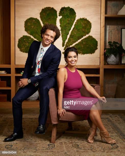 EVENTS New Talent Mixer NBC Portrait Studio Pictured Damon J Gillespie Auli'l Carvalho Rise