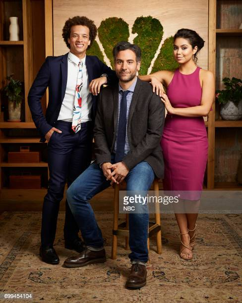 EVENTS New Talent Mixer NBC Portrait Studio Pictured Damon J Gillespie Josh Radnor Auli'l Cravalho Rise