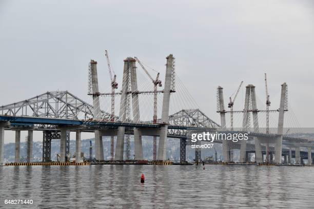 New Tappan Zee Bridge Being Built By The State Of New York